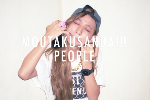 "MOUTAKUSANDA!!! PEOPLE vol.1 in ""SOUNDGRAM"""