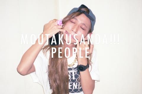 """MOUTAKUSANDA!!! PEOPLE vol.1 in """"SOUNDGRAM"""""""