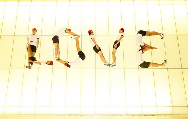 写真連載『組体操BOYS』 vol.04  in 六本木アートナイト